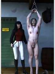 Womans Hour Femdom Drawings - Our time is come... Prepare for punishment and pleasure ... mans...