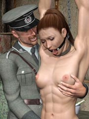 3D BDSM Dungeon Porn Art